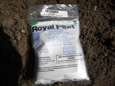 Bag of Garden Soil Inoculant for Peas and Beans