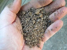 Close-up of Garden-tone Organic Fertilizer