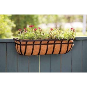 Deck Planters are Perfect for Growing Herbs or Lettuces
