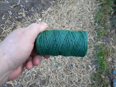 Garden Twine for Tying the Pole Together