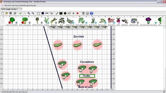 Bottom of Garden Plan