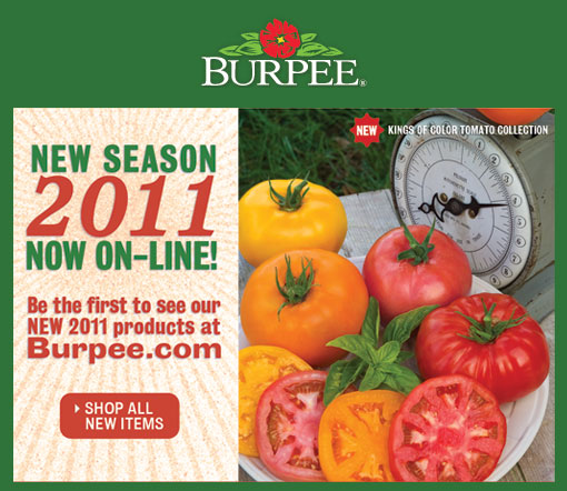 New at Burpee for 2011