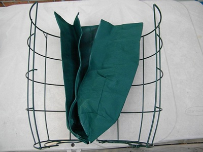 Place the Canvas Bag Inside the Cage Assembly