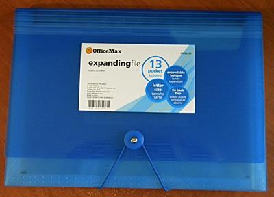 13-Pocket Expanding File