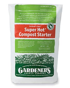 Super Hot Compost Starter