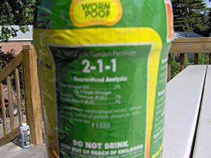 Terracycle Garden Fertilizer