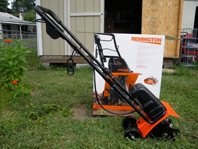 The Remington Electric Tiller