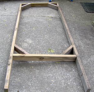 Cucumber Trellis Frame